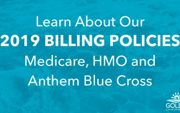 CHANGES FOR MEDICARE, HMO AND ANTHEM BLUE CROSS PATIENTS