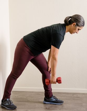 bent over row stretch 1